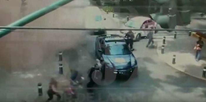 Difunden videos del momento exacto cuando cae edificio en Laredo y Ámsterdam