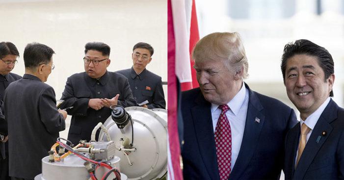 Trump a Japón: 'EU está listo para usar armas nucleares contra Corea del Norte'