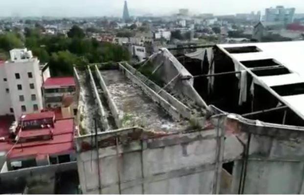 Piden desalojar a vecinos de Cine Ópera, la construcción esta a punto de colapsar