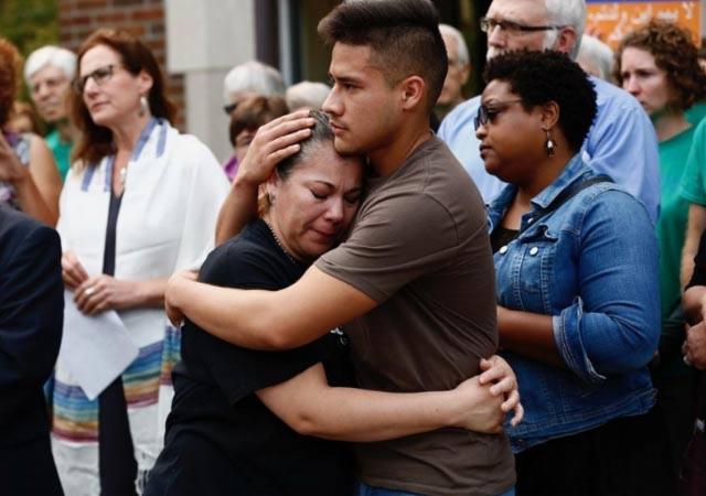 Mexicana se refugia en iglesia menonita de Ohio para evitar su deportación