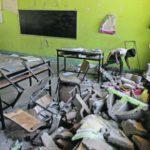 A 3 meses del sismo en Oaxaca, alumnos siguen tomando clases en espacios improvisados