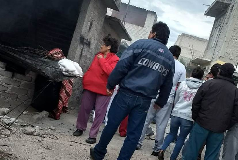 Deja un muerto explosión de polvorín en Zumpango