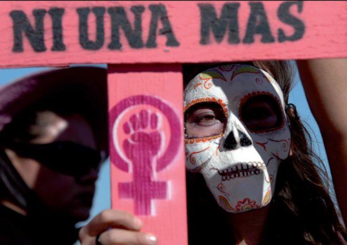 Cada 4 horas se comete un feminicidio en México