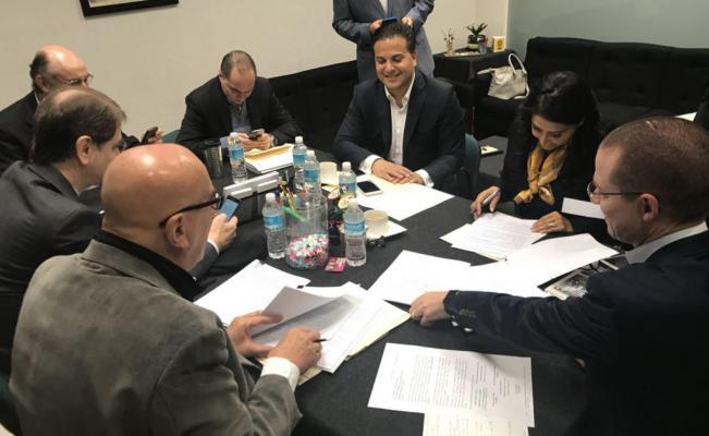 Anaya, Barrales y Dante Delgado registran Frente Amplio ante el INE
