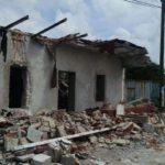 90% de las casas en Hueyapan sufrieron daños irreversibles, piden ayuda para reconstruir