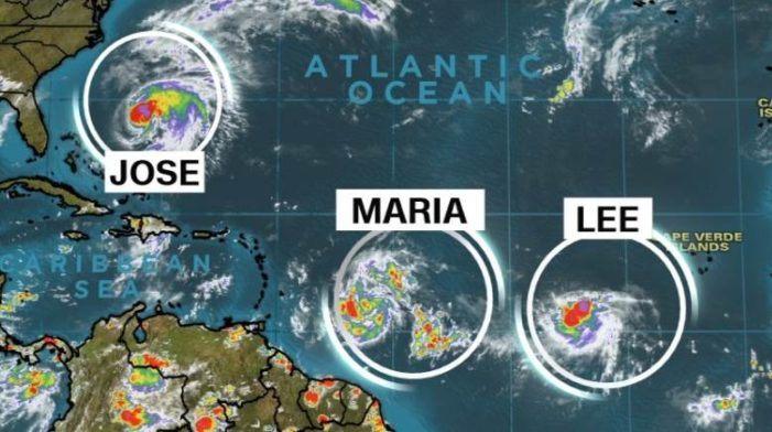 'María' se forma en el Atlántico, amenaza las zonas que ya fueron devastadas por 'Irma'