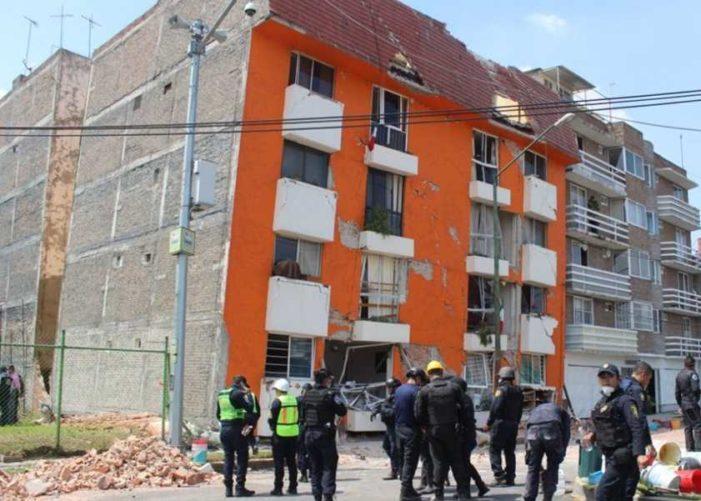 Protección Civil alerta por 1500 edificios en riesgo de colapso en la CDMX