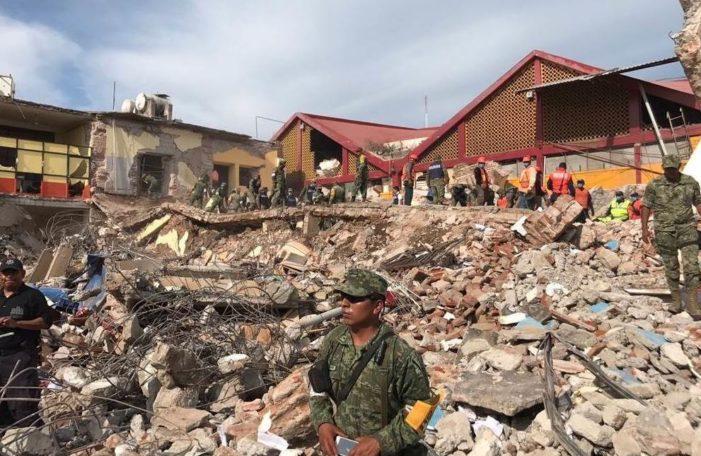 En Juchitán instalan barricadas para evitar actos de rapiña