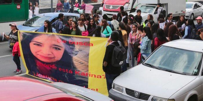 Destapan caso de otra joven desaparecida tras abordar un taxi en Toluca