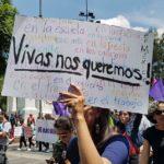 Mara no falleció, la asesinaron: gritan miles en el Zócalo (VIDEO)