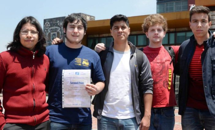 Estudiantes de la UNAM ganan primer lugar de América Latina en competencia de Matemáticas