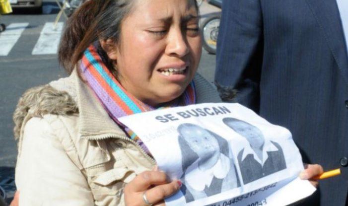 Desaparición de menores ha incrementado 70% con Peña Nieto: ONG