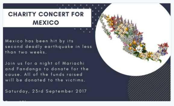 Mexicanos en Bélgica recaudan casi 5 mil euros para damnificados del sismo