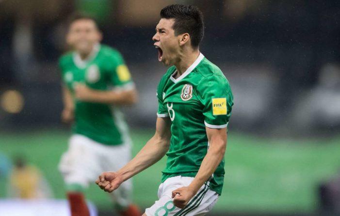México vence a Panamá y califica para el Mundial en Rusia 2018