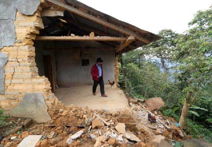 Gobierno de Murat ignora a mixes afectados por sismo y lluvias
