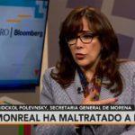 Monreal 'tiene un futuro importante dentro de Morena': Yeidckol Polevnsky