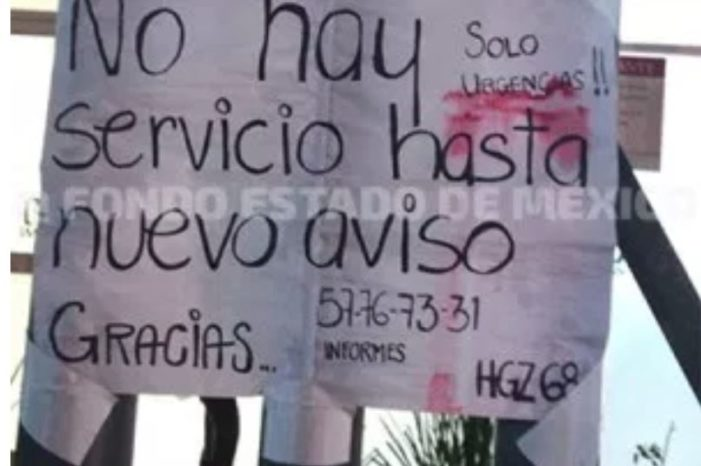 Desalojan clínicas del IMSS en Ecatepec
