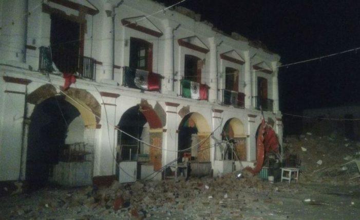 Sección 22 pondrá brigadas de apoyo tras terremoto