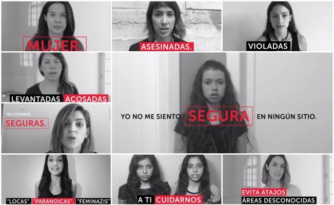 Artistas y activistas lanzan campaña de autodefensa #AlertaMujeresMX (video)