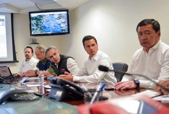 Tras sismo, información oficial ha servido para promover a altos funcionarios