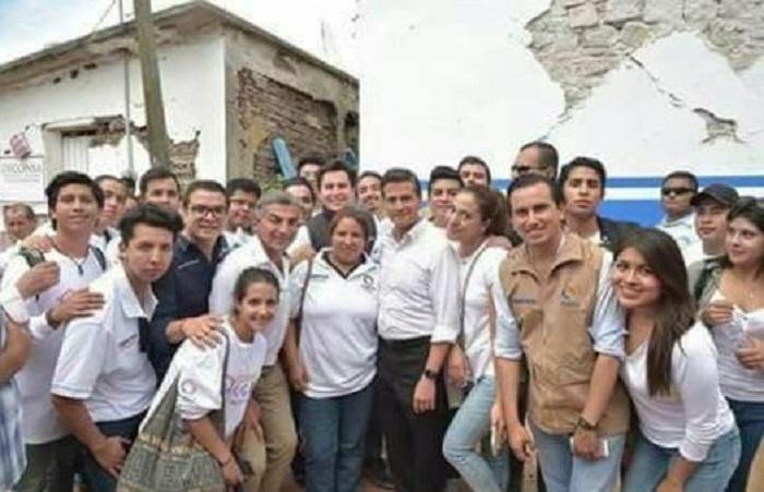 Olvidan autoridades Pilcaya, donde Peña Nieto y Gali se tomaron selfie muy sonrientes