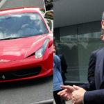 'Fiscal Carnal' tiene Ferrari registrado con domicilio fantasma