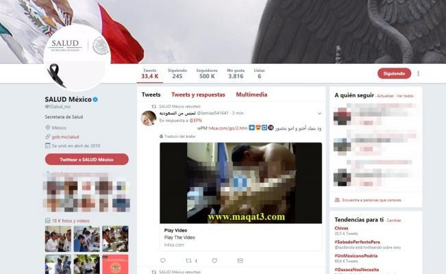 'Hackean' a la Secretaría de Salud y publican porno etiquetando a Peña Nieto