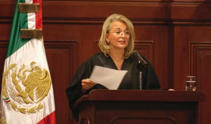 Firmé acuerdo de AMLO porque México necesita unidad nacional: ministra Sánchez Cordero