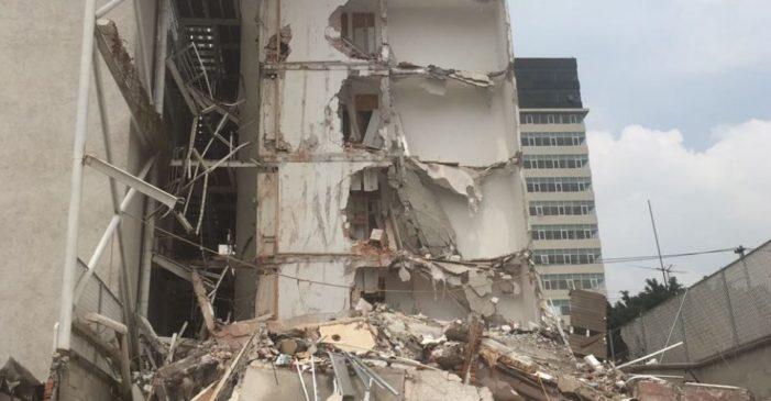 Constructoras de edificios colapsados en la Benito Juárez usaron materiales de baja calidad
