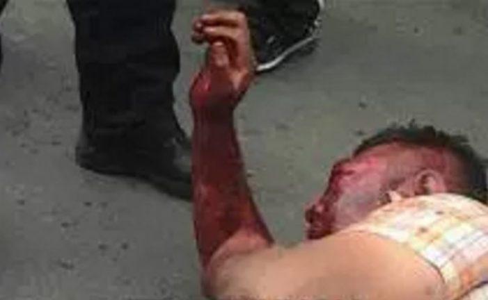 En Ecatepec intentan secuestrar a una joven, vecinos golpean brutalmente a uno de ellos