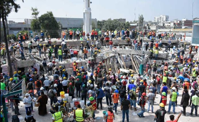 Temblor diez veces menor al de 1985 colapsó la Ciudad de México