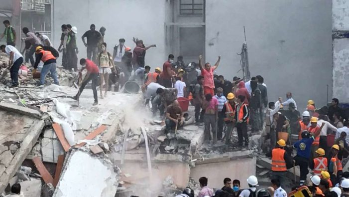Secuelas políticas del terremoto