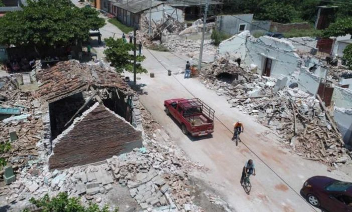 Oaxaqueños huyen de los sismos, abandonan comunidades del Istmo