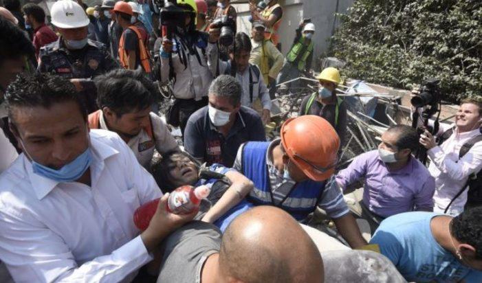 Al menos hay 4 muertos en la Ciudad de México y 29 edificios colapsados
