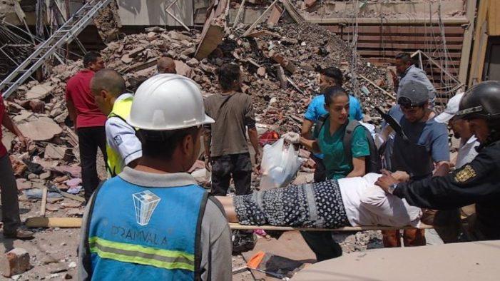 Al menos 107 personas muertas en México tras terremoto; activan plan DN-III