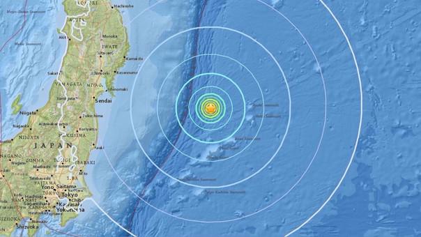 Sismo de magnitud 6.1 golpeó la costa este de Japón