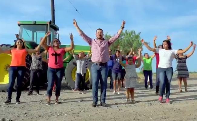 """Al ritmo de """"I will survive"""", alcalde de Río Bravo promueve su primer informe de gobierno (VIDEO)"""