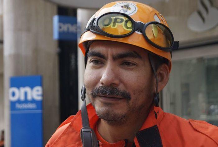 Topo de Coahuila denuncia que fue despedido por ayudar en los rescates de Cd. de México