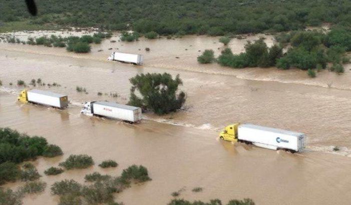 Fuertes lluvias provocan inundaciones en cinco estados