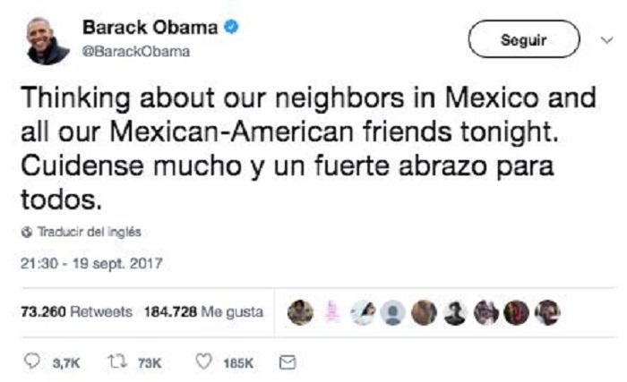 Comunidad internacional se pronuncia y ofrece ayuda a México