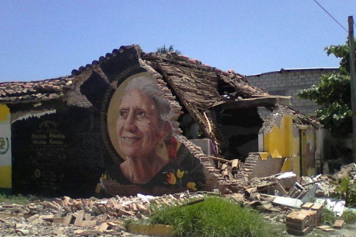 Ejército reparte ayuda sólo en calles principales de comunidades afectadas por sismo