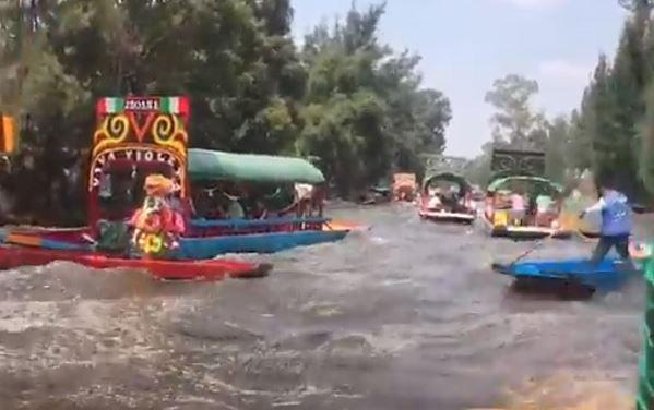 Al menos 52 edificaciones colapsaron y 5 personas murieron en Xochimilco