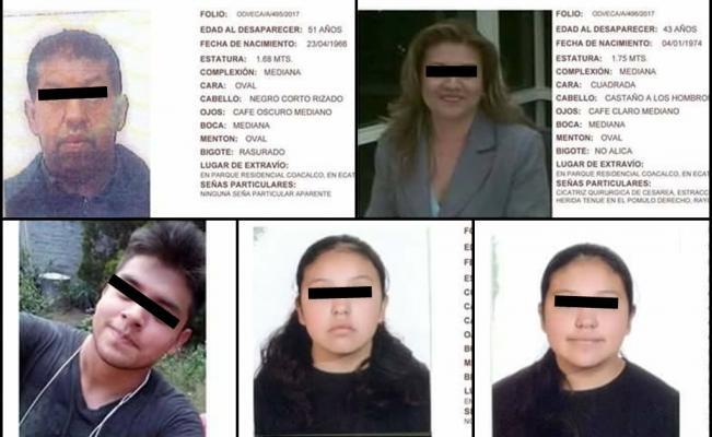Asesinan a familia y la entierran en su propia casa en Tultepec