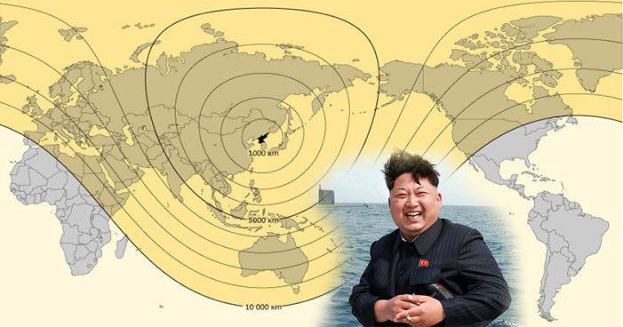 Corea del Norte trabaja en triplicar el alcance de sus misiles