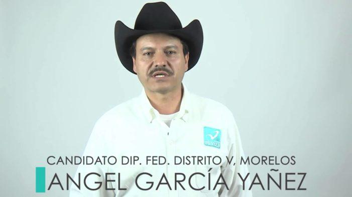 'Con prepa me alcanzó para ser diputado y presidente municipal', dice Ángel García Yáñez