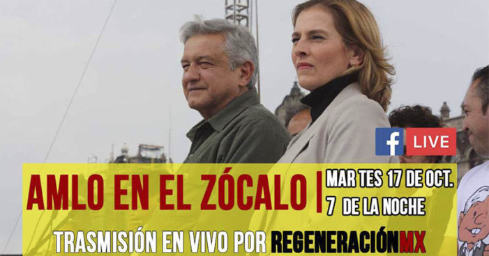 AMLO en la FIL del Zócalo (VIDEO)