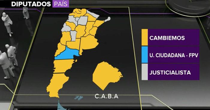 Estos son los primeros resultados de las elecciones parlamentarias en Argentina