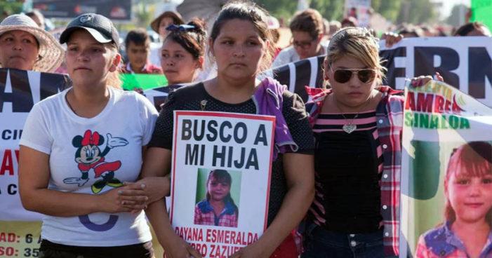 Hallaron los restos de la niña Dayana Esmeralda, desaparecida en Sinaloa