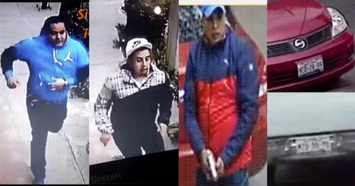 Iztacalco: captan asalto a mano armada y con disparos a plena luz del día (Videos)