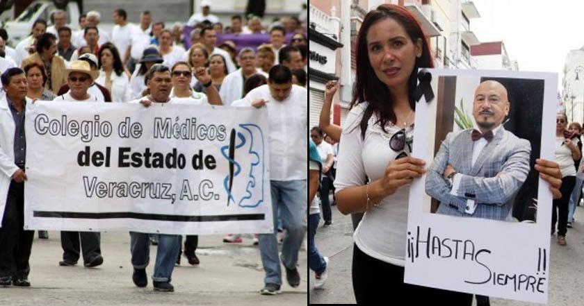 Médicos exigen justicia por el asesinato del neurocirujano